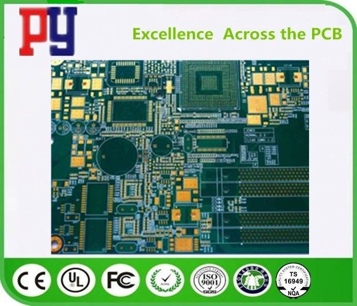 6 layer circuit board  green  fr4  1OZ   Multilayer PCB Board   HDI  osp