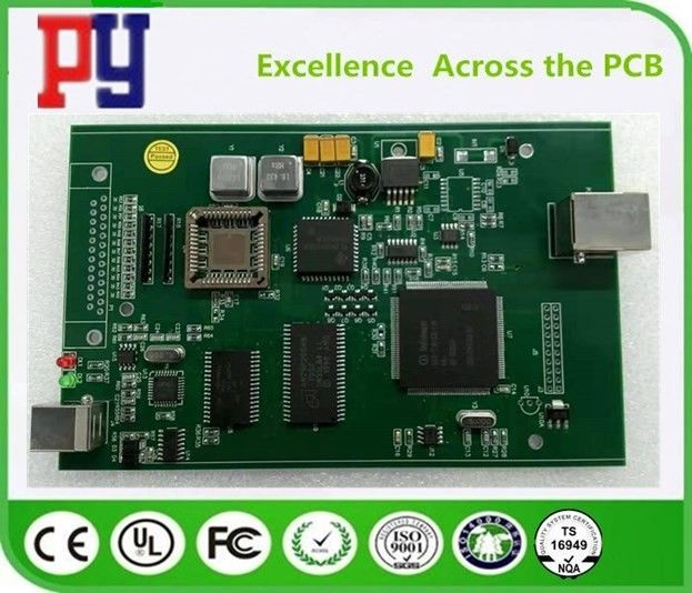 Fr-4 Pcba Printed Circuit Board Assembly 2 Layer 1.6MM Thickness 1oz Copper